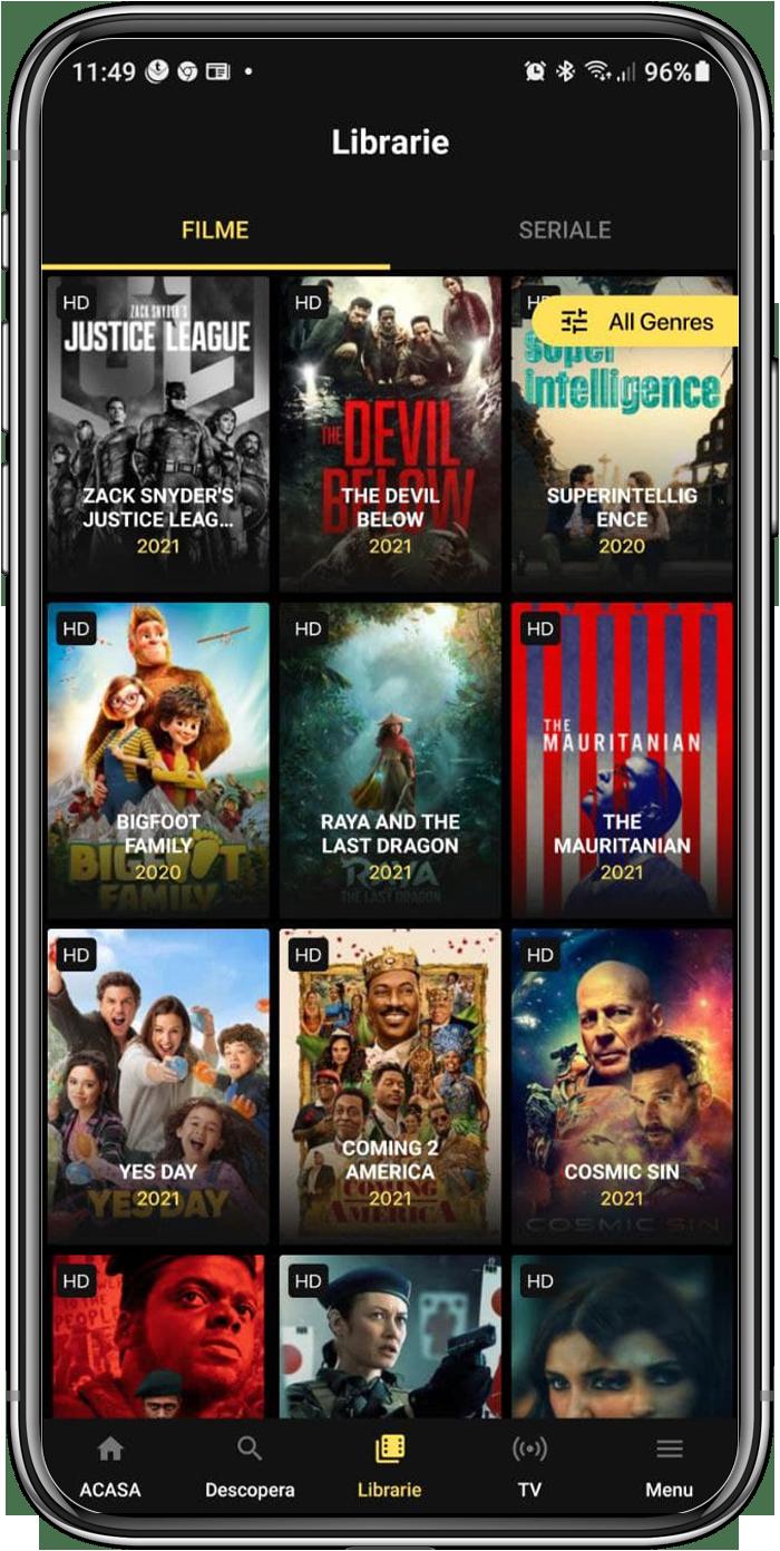 Watch Latest Movies & Series on ACASATV Live
